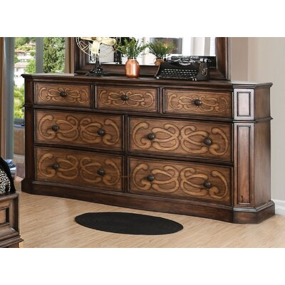 Barrington Transitional 7 Drawer Dresser