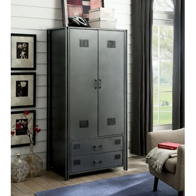 Burke Industrial 2 Drawer Armoire
