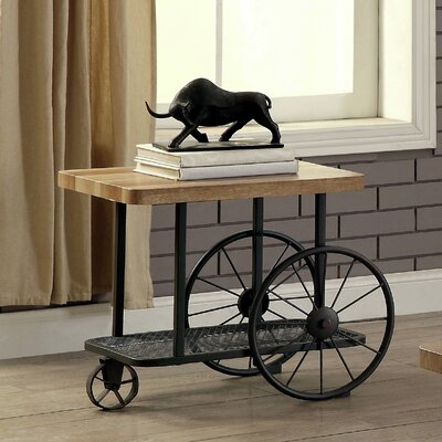 Springport Industrial End Table