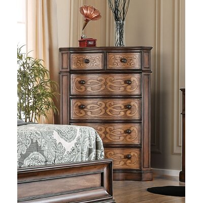Barrington Transitional 6 Drawer Chest