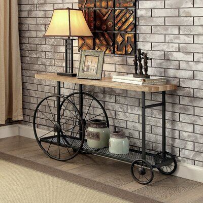 Springport Industrial Console Table