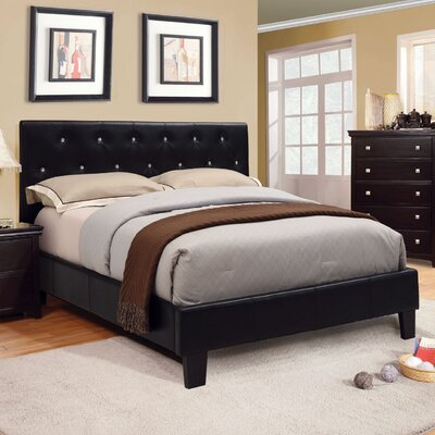 Lisa Upholstered Platform Bed