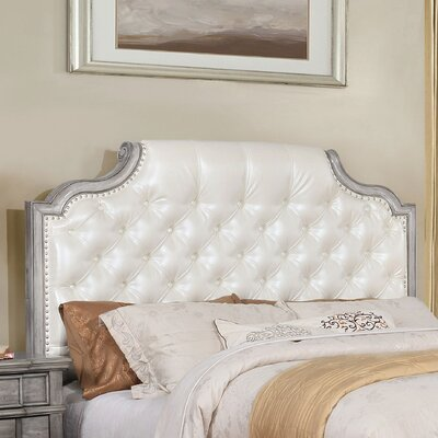 Finley Transitional Panel Headboard Size: Queen