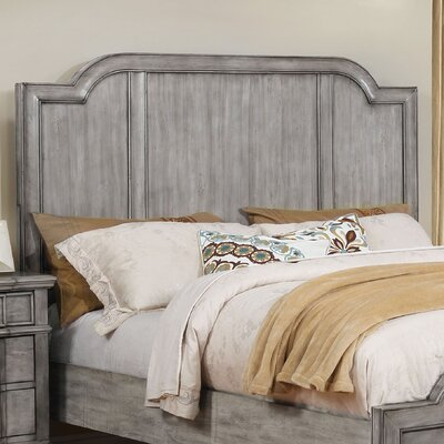 Euston Panel Wood Headboard Size: California King