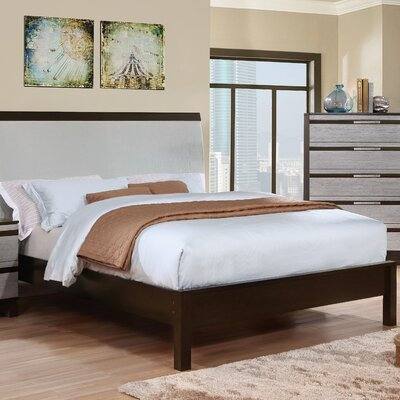 Dowd Contemporary Upholstered Panel Bed