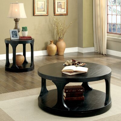 Haywood Transitional 2 Piece Coffee Table Set