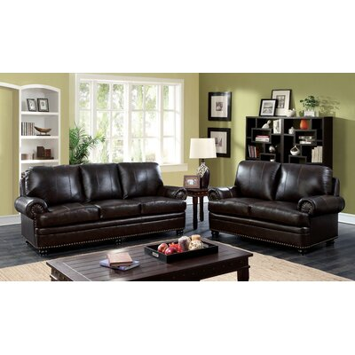 Jagen Leather Living Room Collection