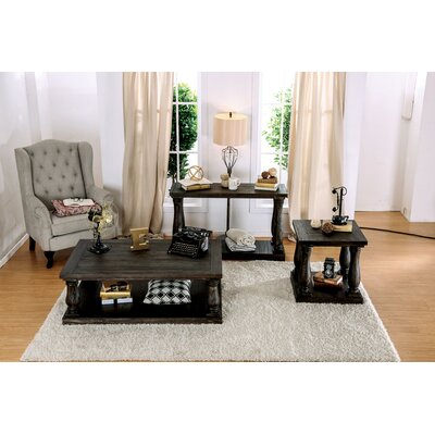 Althea Transitional 3 Piece Coffee Table Set