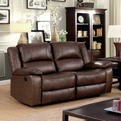 Boardwalk Transitional Reclining Loveseat
