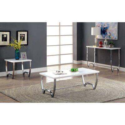 Aguayo 3 Piece Coffee Table Set
