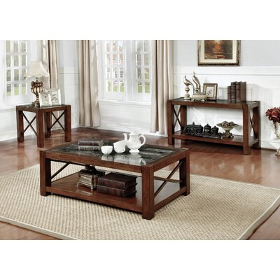 Brandenburg 3 Piece Coffee Table Set