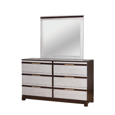 Dowd Contemporary 6 Drawer Dresser