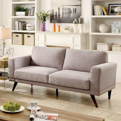 Johnathan Mid-Century Modern Sofa Upholstery: Gray