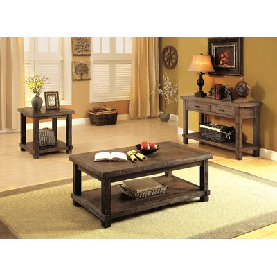 Matthews 3 Piece Coffee Table Set