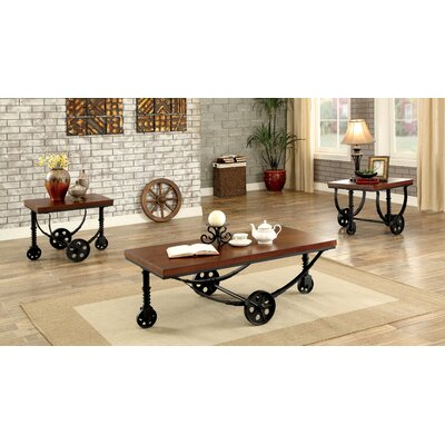 Pinos 3 Piece Coffee Table Set