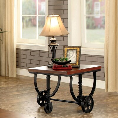 Albion Industrial End Table