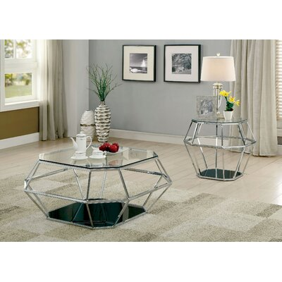 Aguiar 2 Piece Coffee Table Set