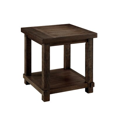 Matthews Transitional End Table