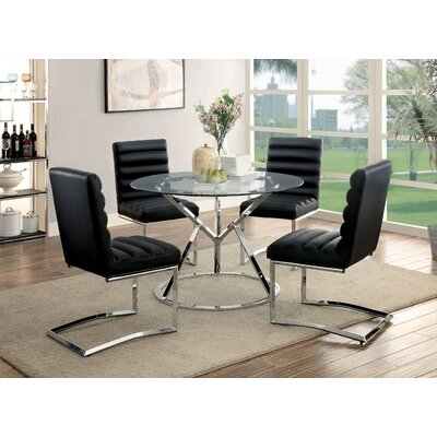 Destan 5 Piece Dining Set