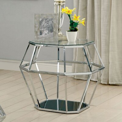 Aguiar Contemporary End Table