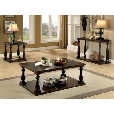 Branson 3 Piece Coffee Table Set