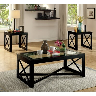 Brannan 3 Piece Coffee Table Set