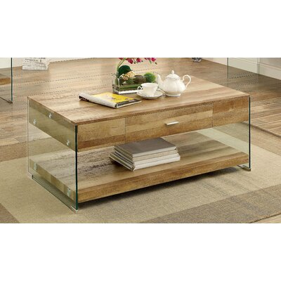 Destanee Contemporary Coffee Table Finish: Natural