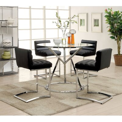 Destan 5 Piece Counter Height Dining Set