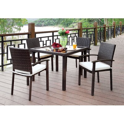 Annette 5 Piece Dining Set