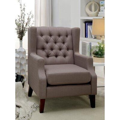 Janae Contemporary Wingback Chair