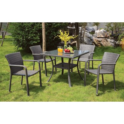 Annabelle 5 Piece Dining Set