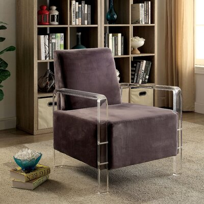 Kailey Contemporary Armchair Upholstery: Gray