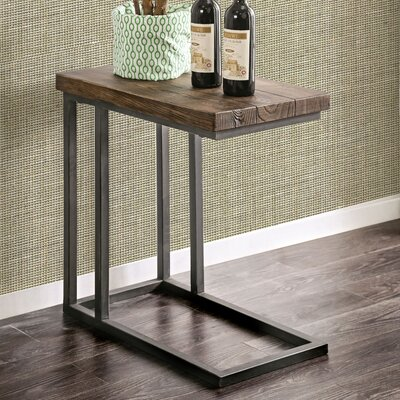 Wilma Industrial End Table