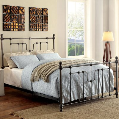 Abigale Contemporary Four Poster Bed Size: King
