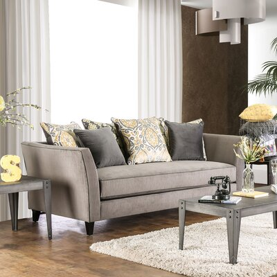 Meyer Contemporary Sofa Upholstery: Gray