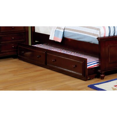 Eliot Traditional Trundle Unit Color: Espresso