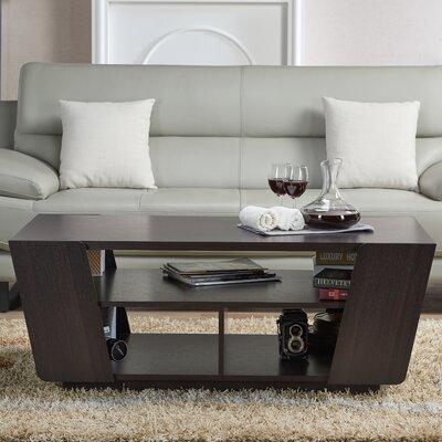 Hamblen Coffee Table with Magazine Rack
