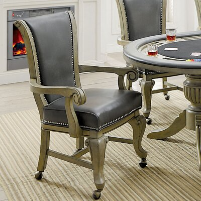 Transitional Lounger Game Chair Set Finish: Gray