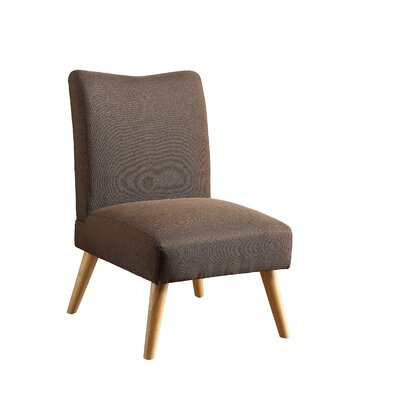 Stannard Side Chair Upholstery: Brown