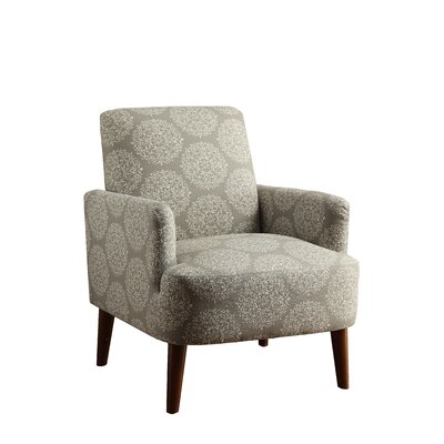 Eugenia Contemporary Arm Chair Upholstery: Dandelion