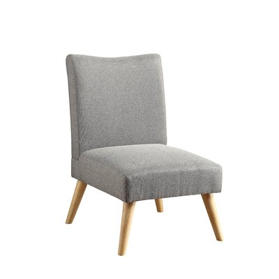 Stannard Contemporary Side Chair Upholstery: Gray