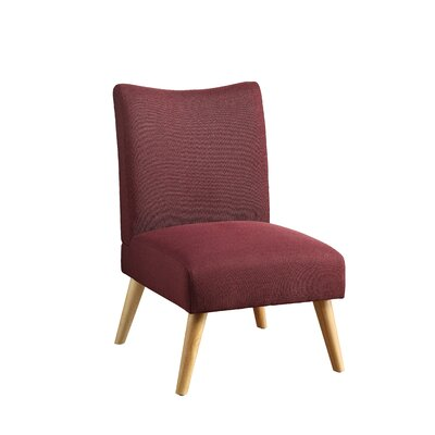 Stannard Side Chair Upholstery: Purple
