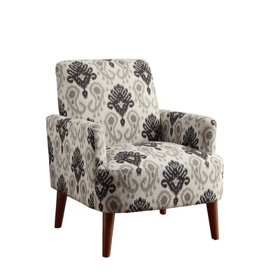 Eugenia Contemporary Wood Arm Chair