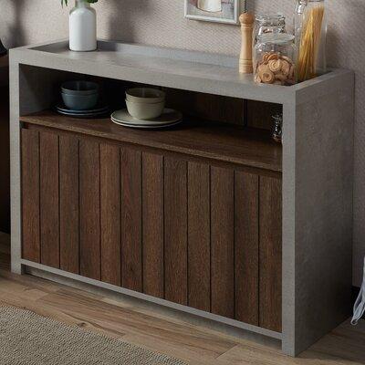 Stribling Transitional Shoe Storage Cabinet Color: Distressed Walnut