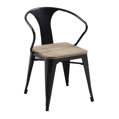 Pohatcong Dining Chair Finish: Black
