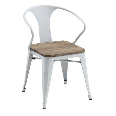 Chandler Side Chair Finish: White