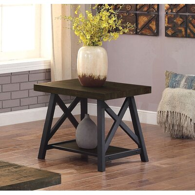 Mayur Industrial End Table