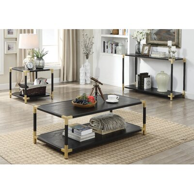 Goodwin Contemporary 3 Piece Coffee Table Set