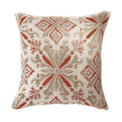 Shayla Contemporary Throw Pillow Size: 18 x 18