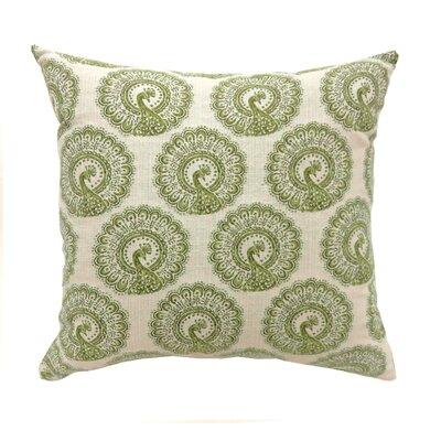 Turton Contemporary Throw Pillow Size: 18 x 18, Color: Green